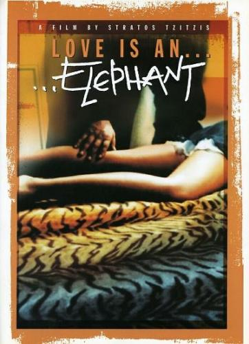 love is an elephant poster